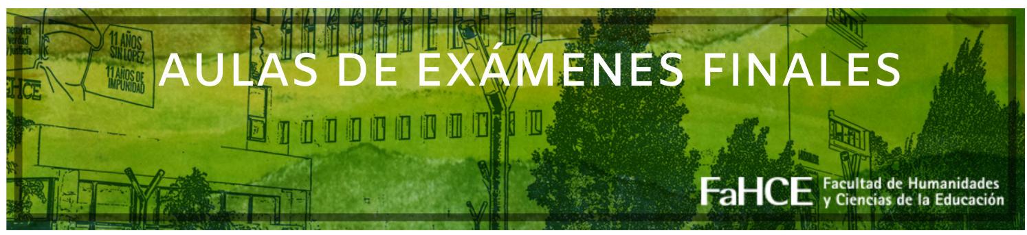 Plataforma para rendir exámenes finales